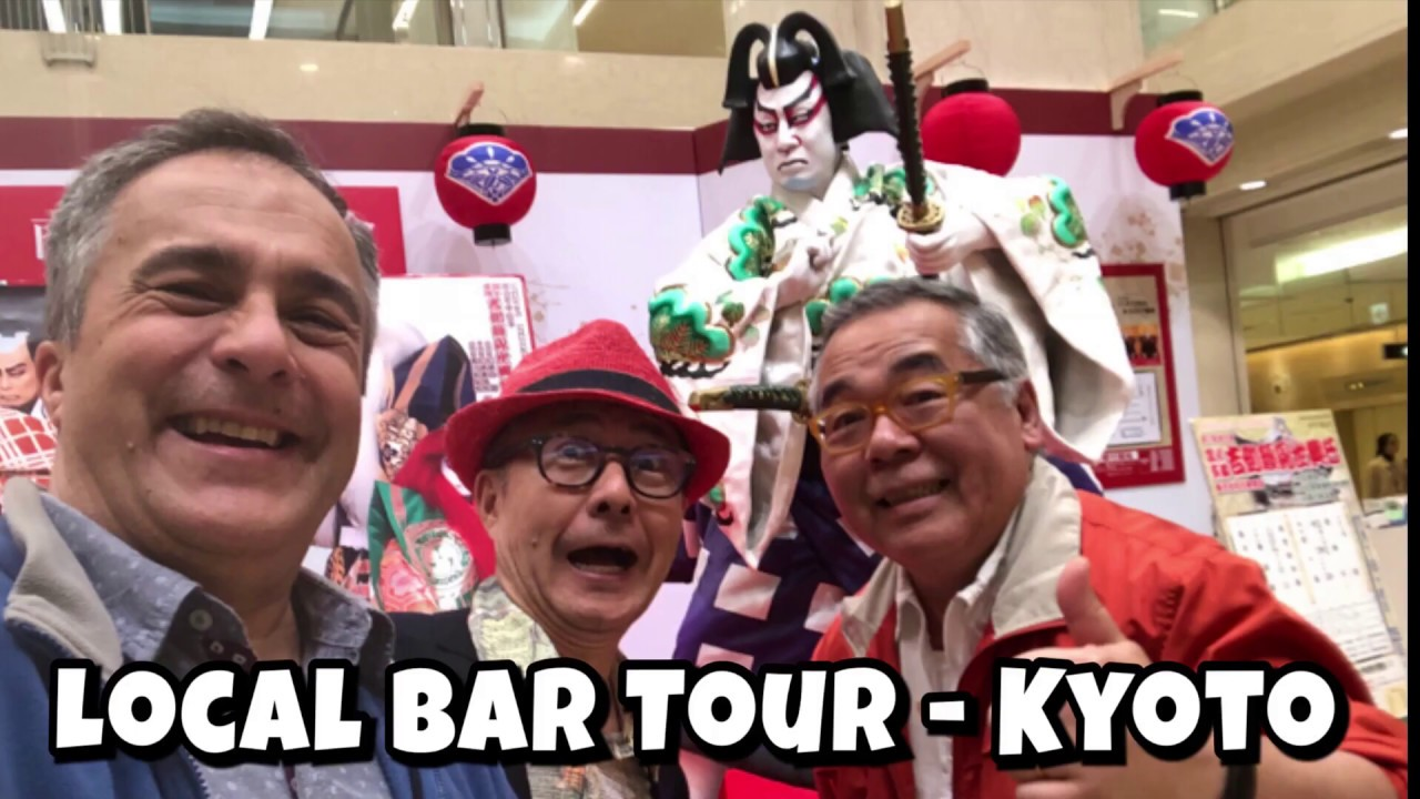 KYOTO LOCAL BAR TOUR – by Toshi Kanda