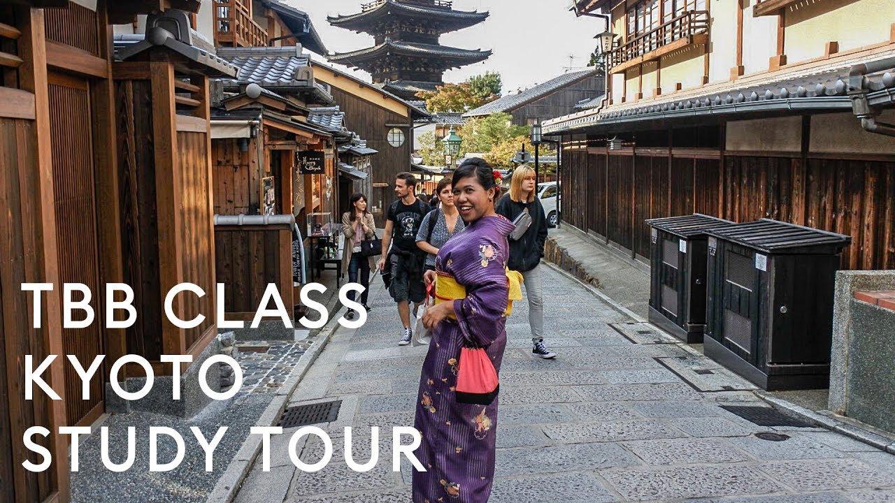 TBB CLASS STUDY TOUR TO KYOTO