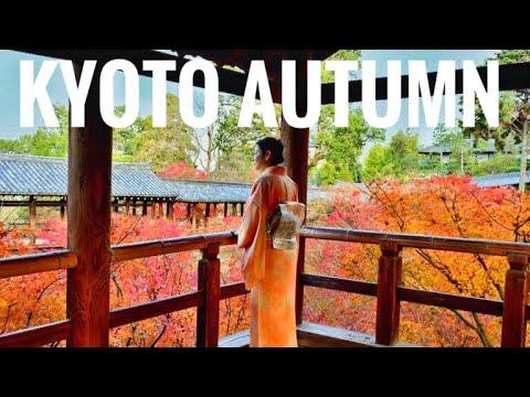 Top 10 spot wisata musim gugur di Kyoto