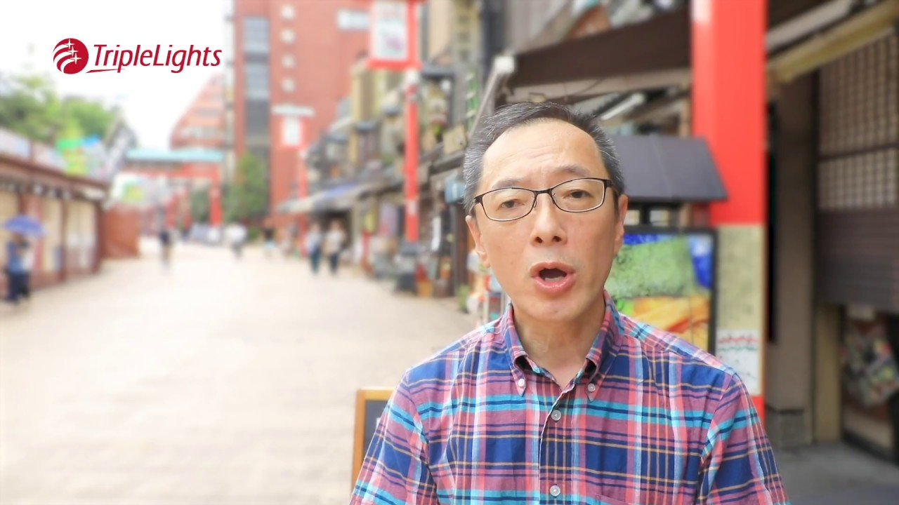 TripleLights Meets the Guides! Hiro | Professional Certified Guide in Japan