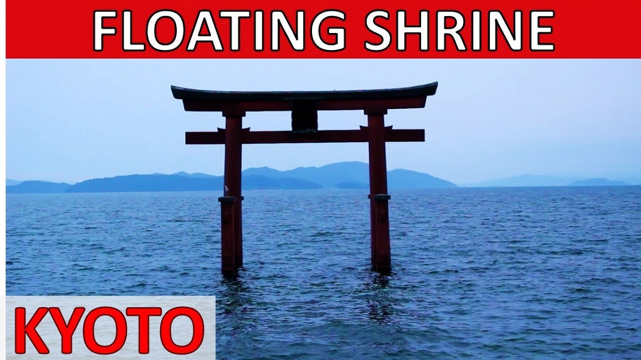 DAY TRIP FROM KYOTO TO THE FLOATING SHRINE – Kyoto Travel Guide Japan vlog 白鬚神社