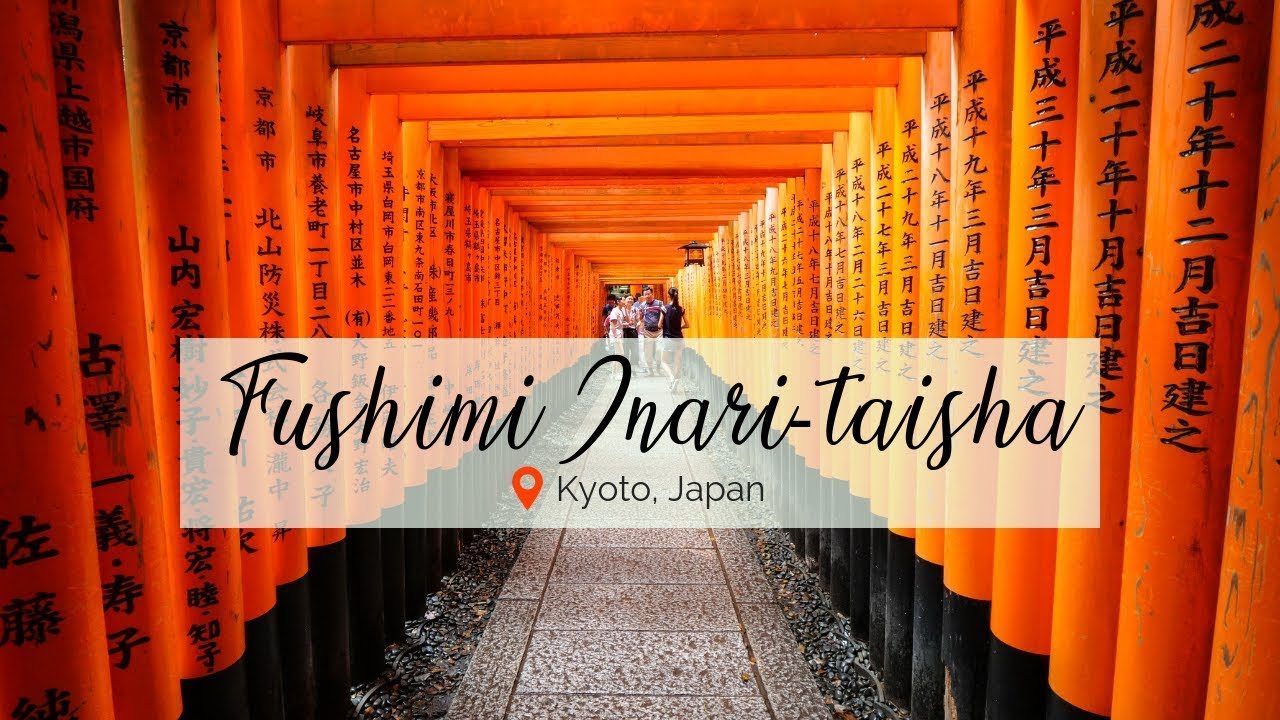 Fushimi Inari Shrine and Japanese Street Food Tour in Kyoto, Japan