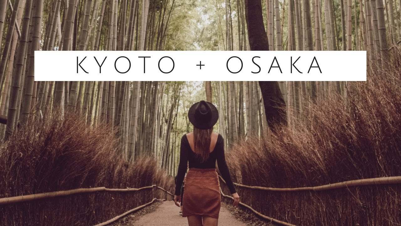 Japan Vlog 2: Kyoto + Osaka