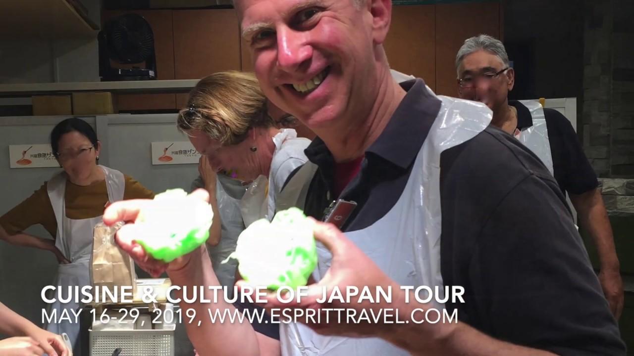 Japanese Food Tour | Tokyo Kanazawa  Kyoto Osaka Kobe May 2019