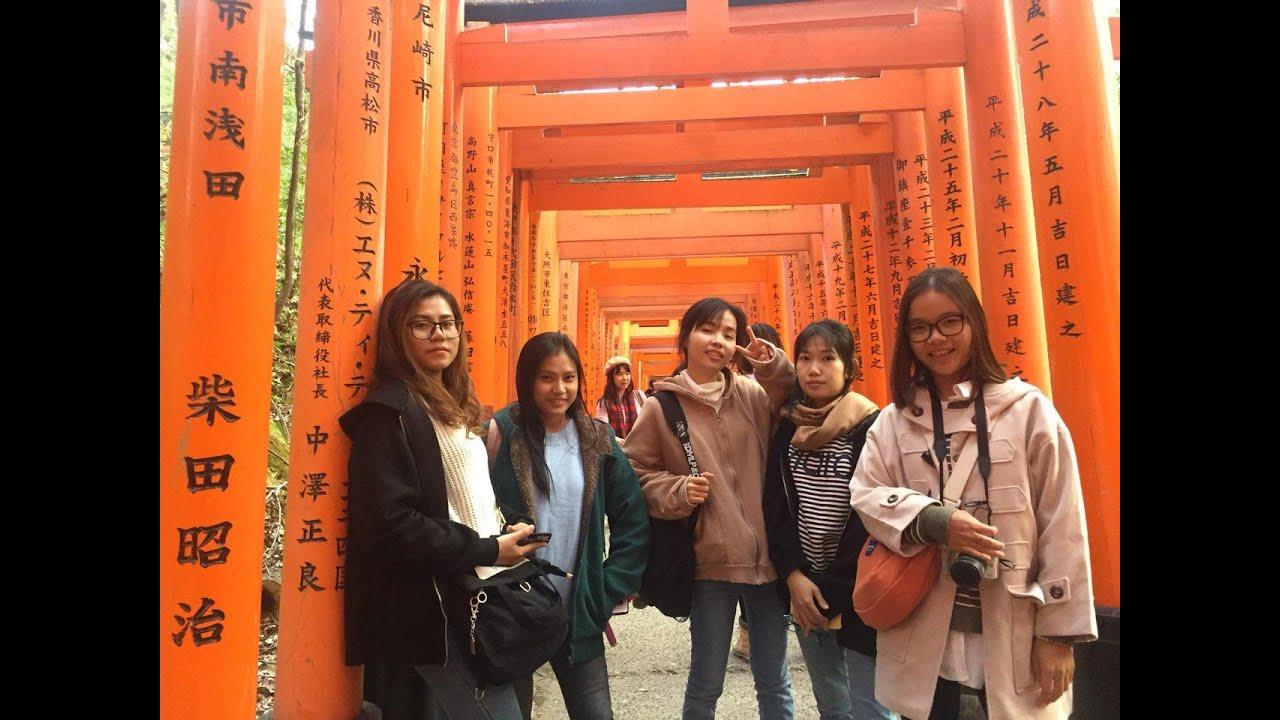 Korea Japan Trip (Kyoto-Arashiyama and Fushima Inari taisha) 211118 – Part1