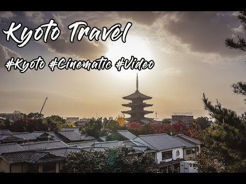 Kyoto, Japan Cinematic Travel Video 일본 교토 여행 영상