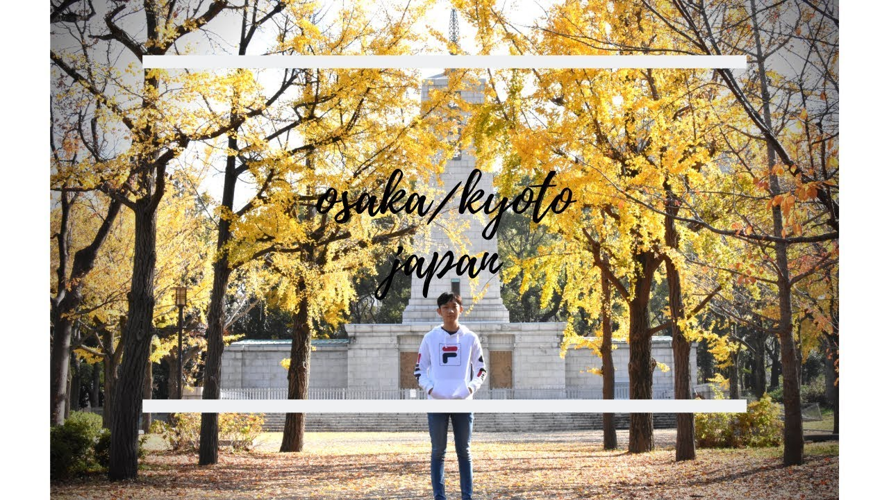 Osaka and Kyoto Japan // Travel vlog