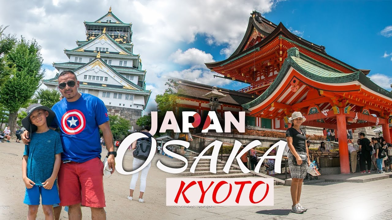 OSAKA /KYOTO JAPAN  METRO & CITY TOUR 2018