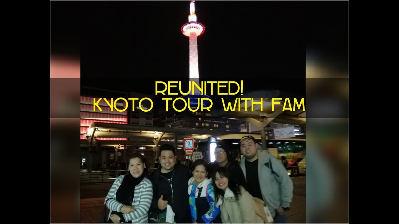 FAMILY IS LOVE | KYOTO TOUR | FUSHIMI INARI | PINOY ALT | VLOG #12 | Part 1