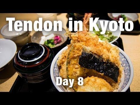 FOOD REVIEW: Tempura Rice Bowl in Kyoto