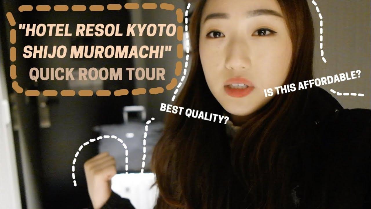 Hotel Room Tour – Hotel Resol Kyoto Shijo Muromachi