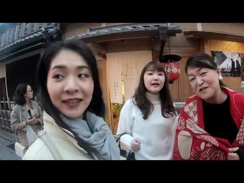Kaede and mana kyoto trip 4k stabilized