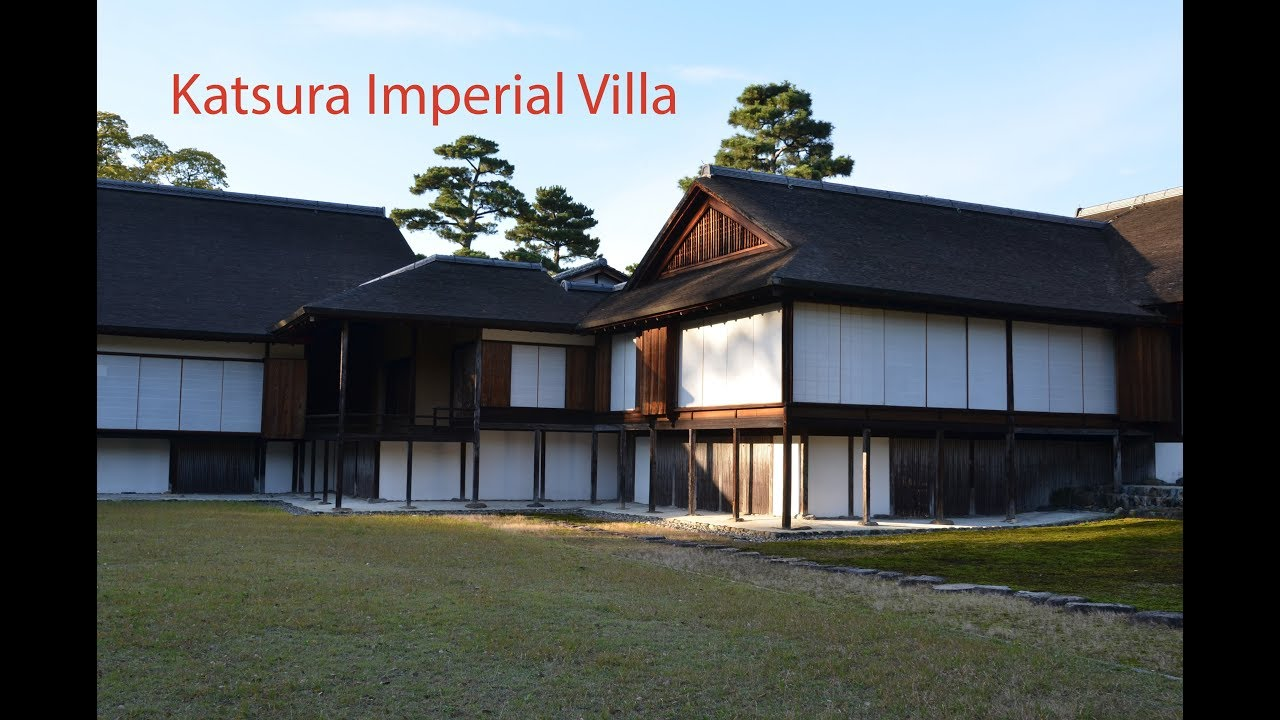 Katsura Imperial Ville, A Beautiful Garden and Maiko in Kyoto in 4k