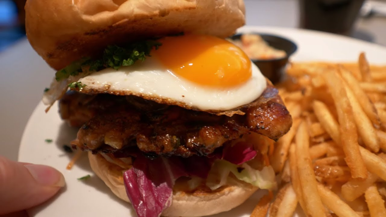 Kyoto Chicken Burger — Can You Handle This?