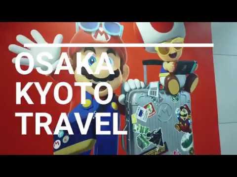 KYOTO + OSAKA DAY 1 | Travel Vlog 2019