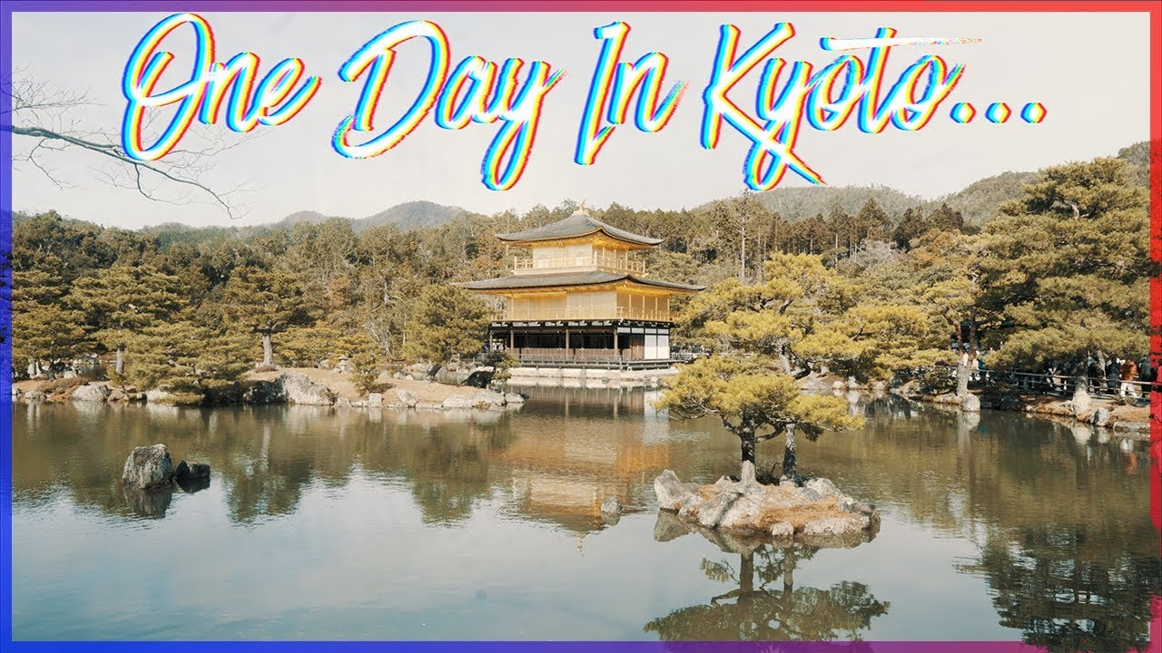 ⛩️One Day In Kyoto⛩️  京都 (Japan Travel Vlog) Beautiful Golden Temple and Shrines!  日本