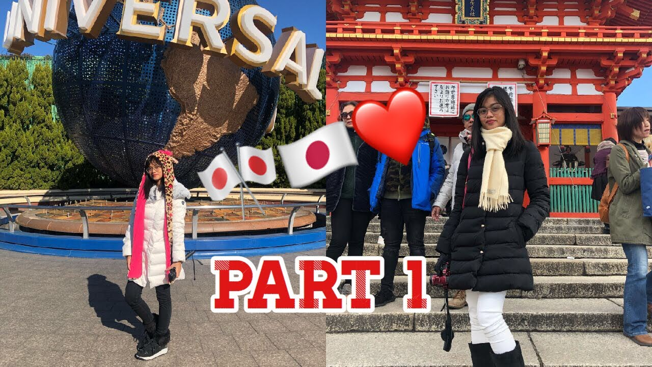 V L O G #24- Universal Studio + Kyoto Tour // Franzyne Kayle