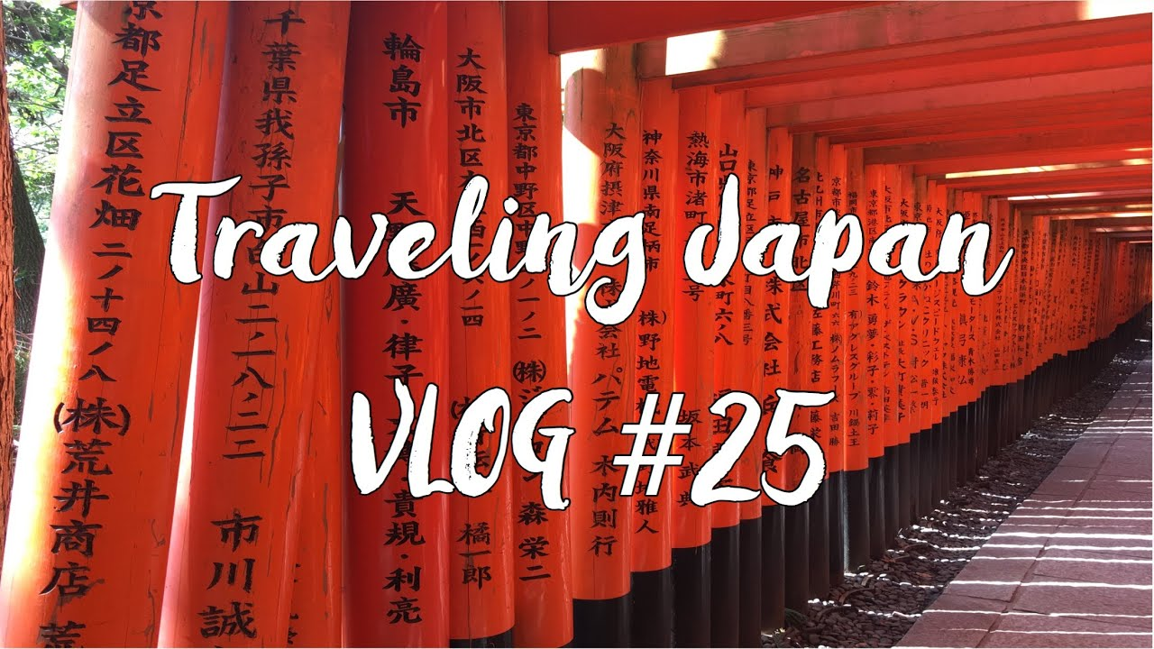 Vlog 25 – Day one in Kyoto
