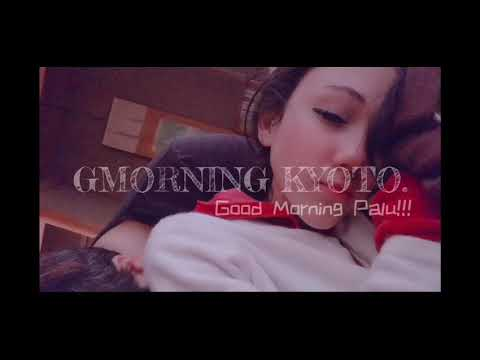 "31. KYOTO TRAVEL – PART 3 – GMorning Kyoto and Me doing my first ""correct"" Morning Japanese Exercise"