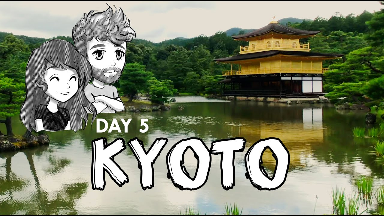 DAY 5 KYOTO- Travel vlog to JAPAN. Ride a pine tree to heaven!
