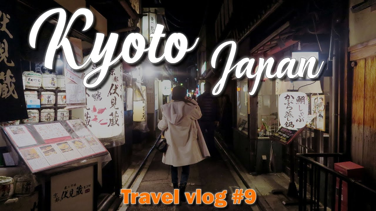 Dining in Kyoto – Japan Travel Vlog #9