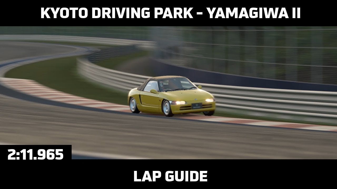 Gran Turismo Sport – Daily Race Lap Guide – Kyoto Driving Park (Yamagiwa II)