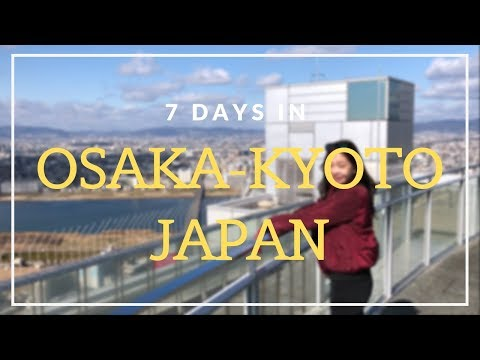 JAPAN TRAVEL VLOG ! | Osaka Kyoto Nara
