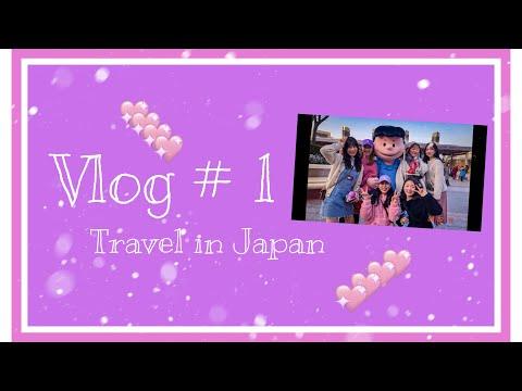 VLOG #1 (  osaka, kyoto travel )