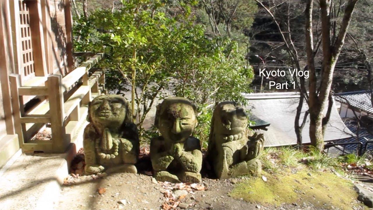 Kyoto 京都 Vlog 1 | Nanzen-ji & Otagi Nenbutsu-ji, ichigo parfait , host's home-cooked dinners