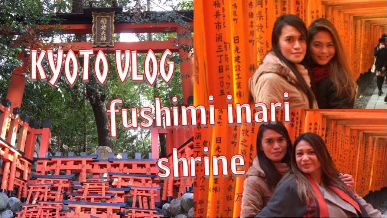 KYOTO VLOG | FUSHIMI INARI SHRINE | FILIPINA IN JAPAN | TOURIST IN JAPAN