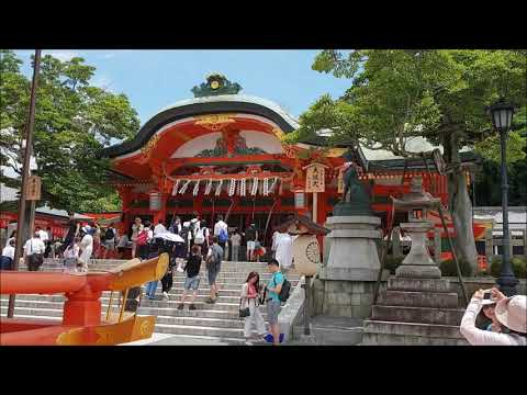 Main Shrine Audio guide in Fushimi Inari(kyoto)