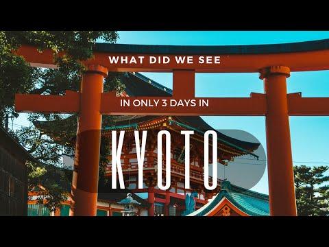 KYOTO Japan Travel Video – Pixel2 4k