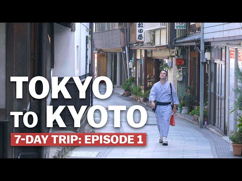 7-Day Trip from Tokyo to Kyoto: Episode 1 | Japan's New Golden Route | japan-guide.com