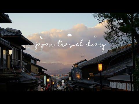 japan travel diary // osaka – kyoto – nara ☁︎