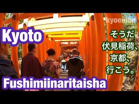 Kyoto Travel Guid Fushimiinaritaisha②京都 伏見稲荷大社 観光