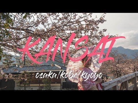 #6.JAPAN, KANSAI, OSAKA KOBE KYOTO / Cinematic travel video