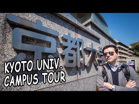 TOUR POR CAMPUS UNIVERSITARIO DE KYOTO UNIVERSITY