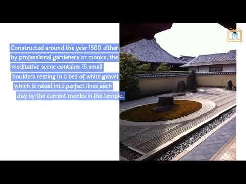 "Reviewing the ""Ryōan-ji"" in Kyoto"