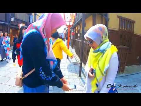 Kyoto 1 Day tour bersama ibu Yati dan keluarga