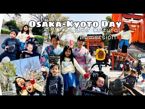 OSAKA – KYOTO TOUR | DAY 3| FUSHIMI INARI TEMPLE & MORE