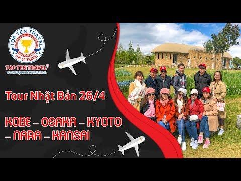 Tour Nhật Bản 26/4/2019: KOBE – OSAKA – KYOTO – NARA – KANSAI