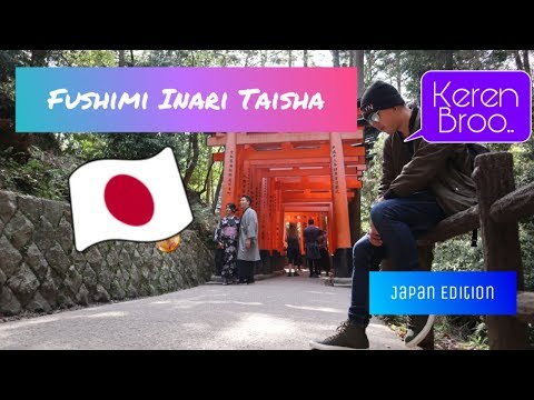 OSAKA TRAVEL GUIDE, at Fushimi Inari, KYOTO, Osaka🇯🇵