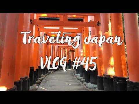 Vlog 45 – Kyoto and Osaka