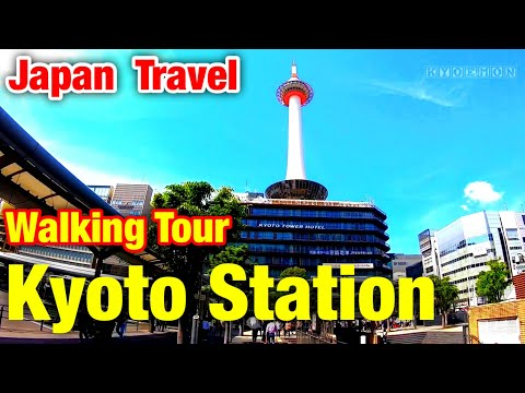 Walking Kyoto Station③ Tour Travel 京都駅 散歩 ツアー 旅行