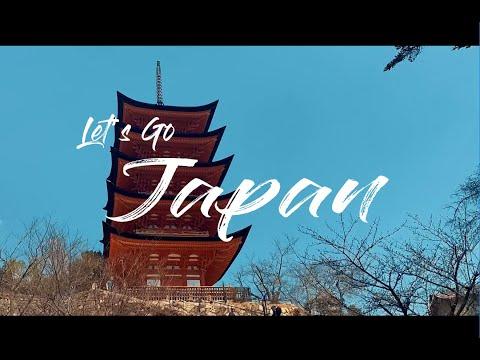 Let's Go Japan 4K, 8 Days Trip 2019 in [Tokyo,Osaka,Kyoto,Nara,Hiroshima,Mt Fuji]