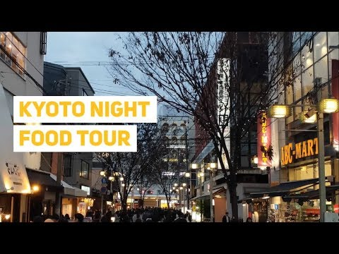 Kyoto Night Food Tour | Nighttime Local Eats and Streets in Old Kyoto