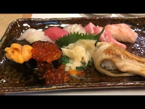 KYOTO food OSAK JAPAN – A Taste of Delicious Japanese Sushi(MICHELIN Guide 1star ★)