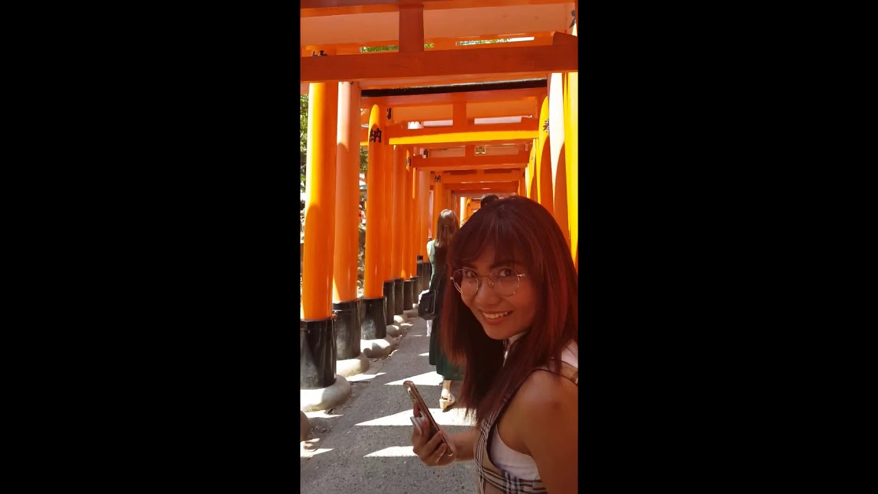 Day 2- Japan Tour- Kyoto  (Fushimi-Inari Temple, Nishiki Market) Watch in HD