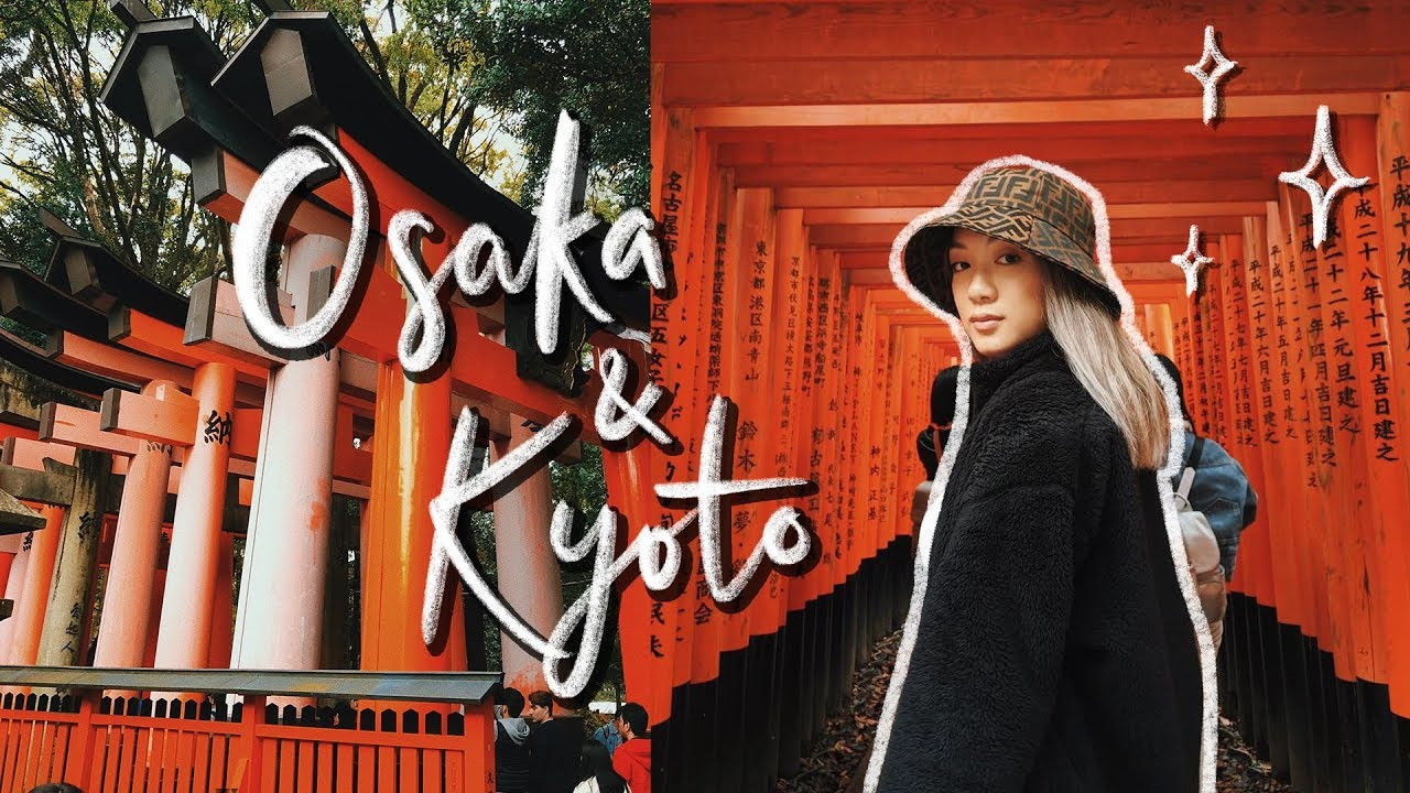 JAPAN ADVENTURES! | Osaka & Kyoto Travel Vlog (Pt.2)