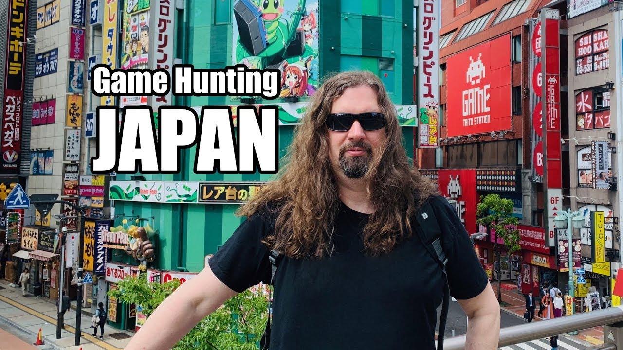 Metal Jesus in JAPAN – Game Hunting in Osaka, Kyoto & Tokyo (Part2)